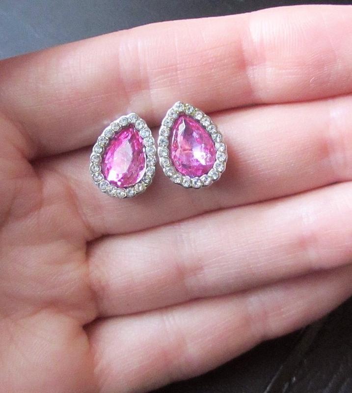 🏵️красивые ювелирные серьги с кристаллами, новые! арт. 8871 - Фото 2