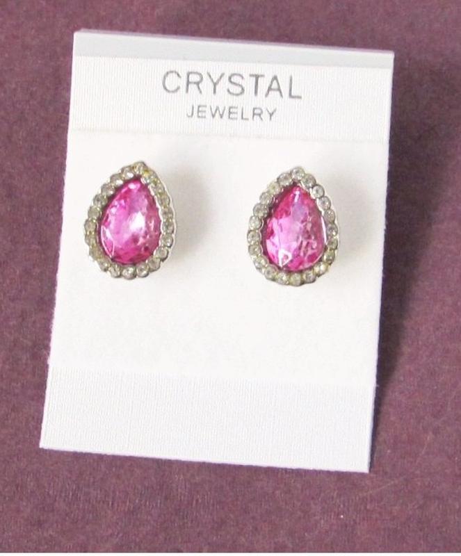 🏵️красивые ювелирные серьги с кристаллами, новые! арт. 8871 - Фото 4
