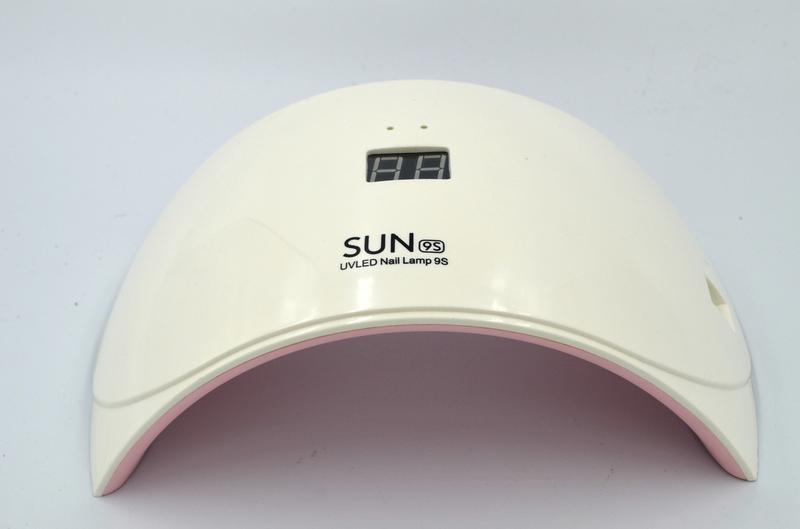 LED + UV лампа для ногтей Sun 9S White 24 Вт (YQ13SSUN9S) - Фото 2