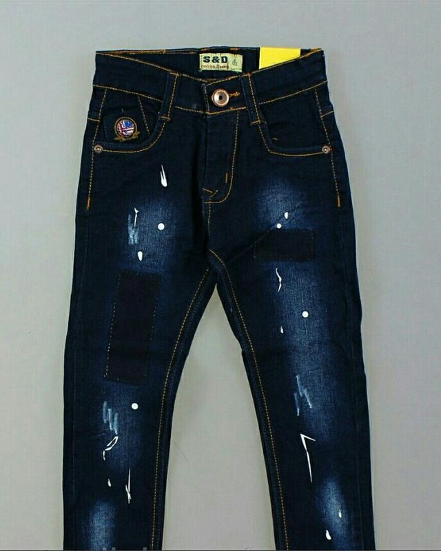 Классные оригинальные джинсы скини для мальчика