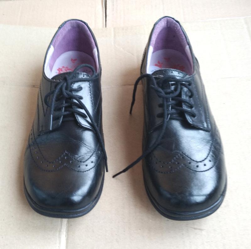 Новые полностью кожаные ортопедические туфли ботиночки pod - Фото 2