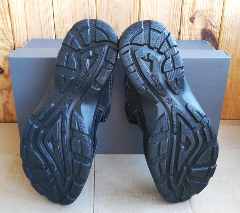 Комфортные кожаные новые сандалии ecco босоножки шлепанцы ориг... - Фото 9