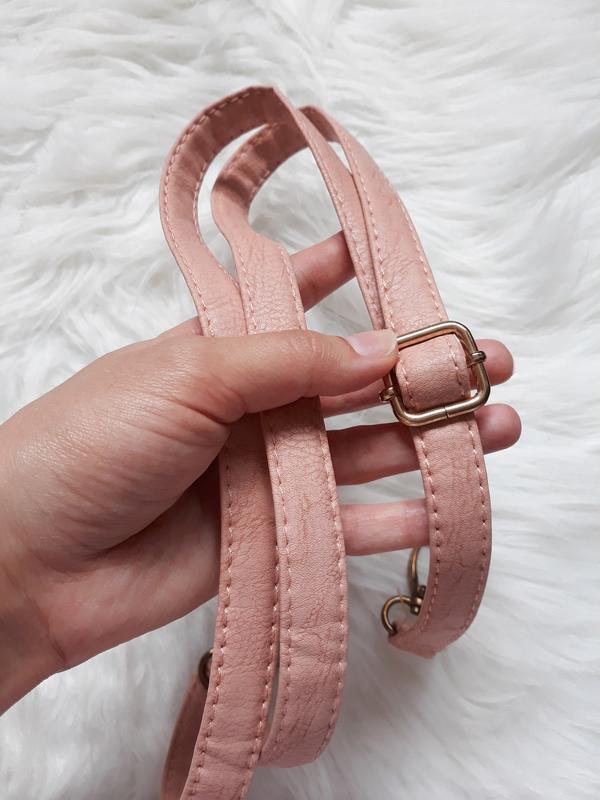 Розовый плечевой ремень для сумки, длинная ручка на сумку 125 см