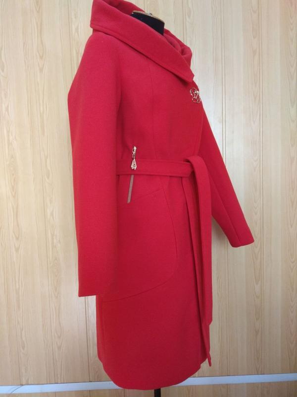 Демисезонное пальто кашемир. - Фото 3