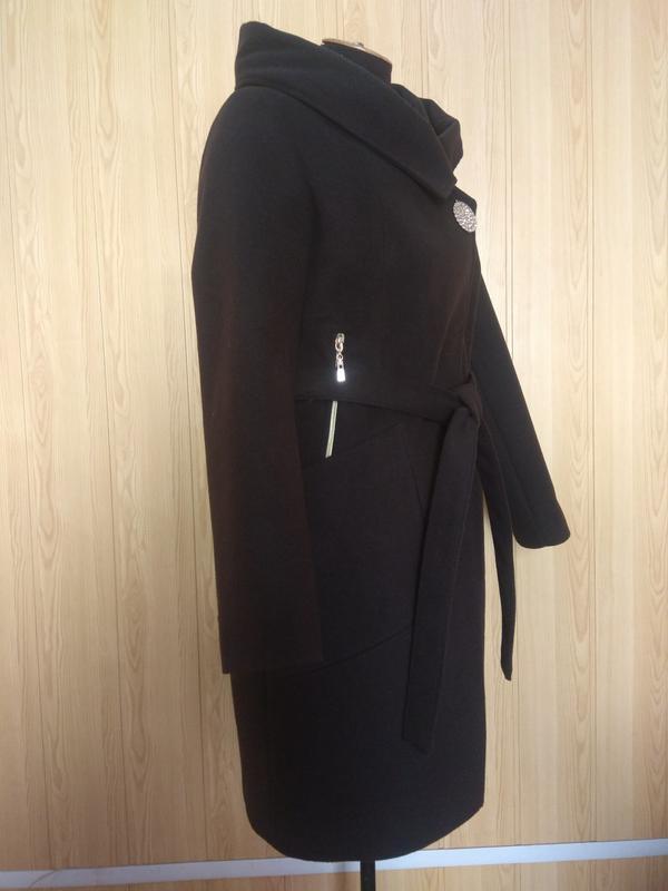 Демисезонное пальто кашемир. - Фото 2