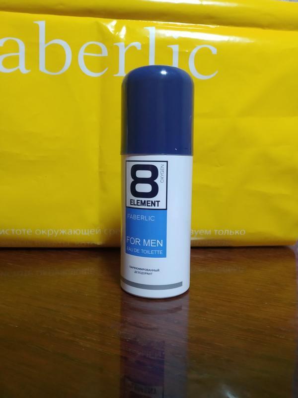 Парфюмированный дезодорант-спрей для мужчин 8 element - Фото 2
