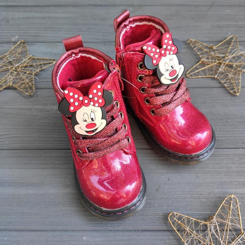 Демисезонные ботинки, ботиночки для девочки