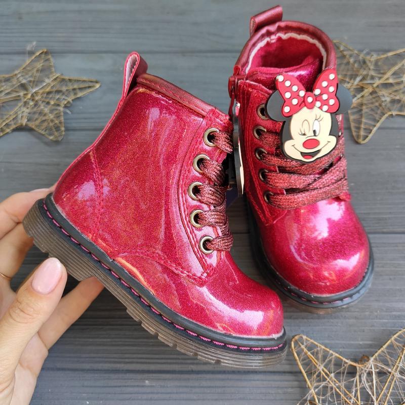 Демисезонные ботинки, ботиночки для девочки - Фото 2