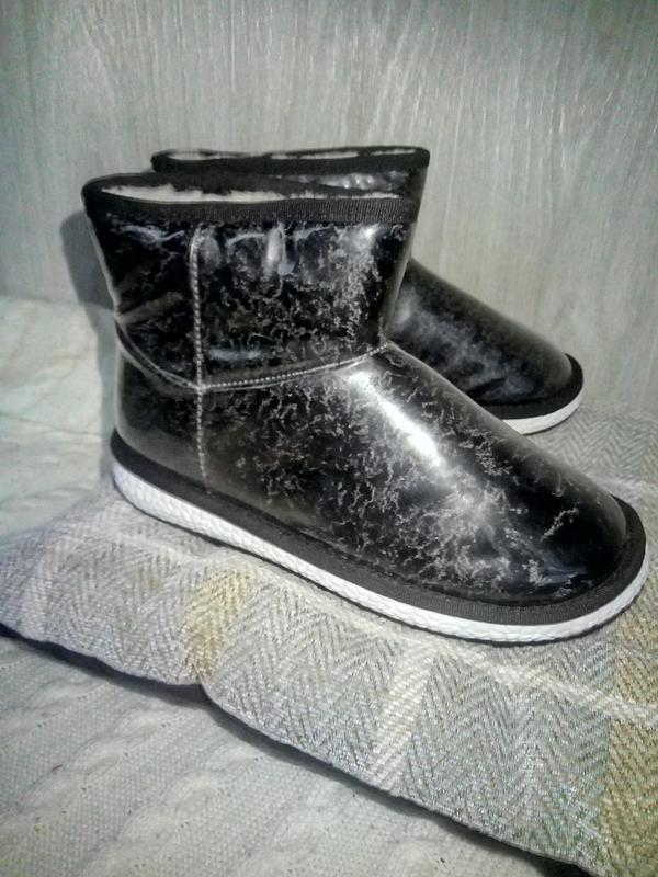 Угги силикон ботинки сапоги - Фото 2