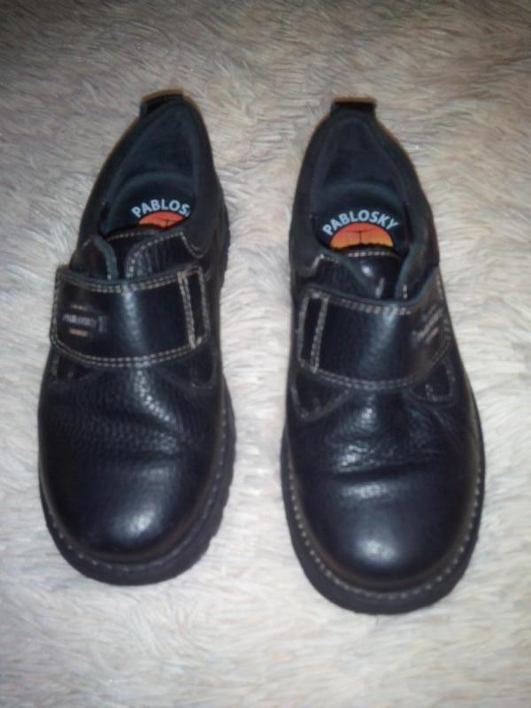 Туфлі для хлопчика шкіряні