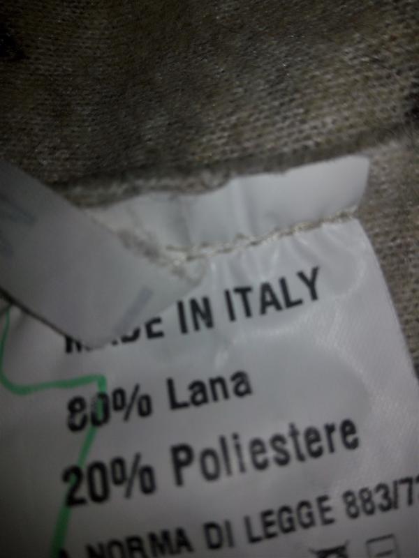Италия,👑 шерстяной трендовый пиджак-кардиган-пальто(кофта, бле... - Фото 3