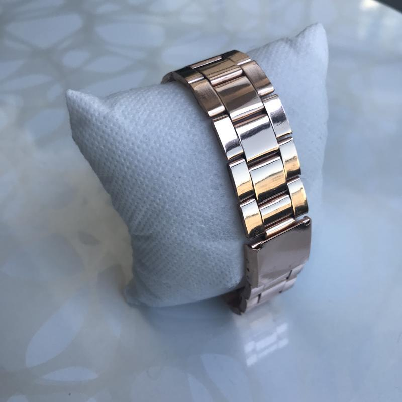 Женские красивые наручные часы женева geneva металлические роз... - Фото 3