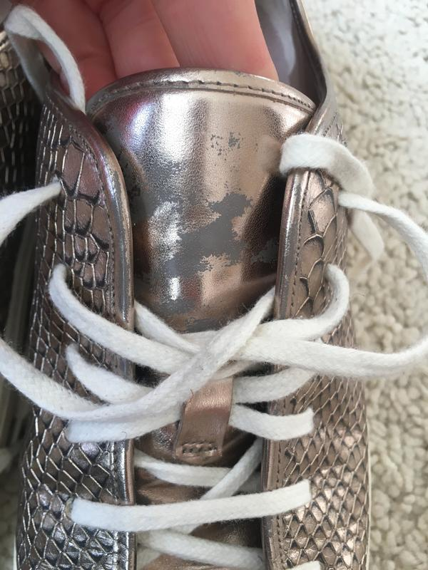 Кожаные сникерсы от cole haan (nike air technology) - Фото 7