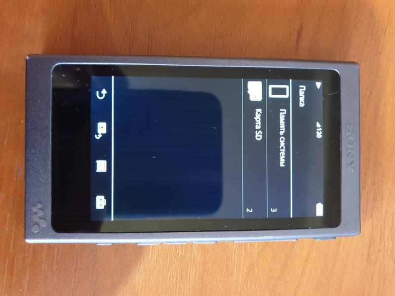 Плеер SONY Walkman NW-A45 16GB в идеале! + карта памяти 128GB - Фото 2