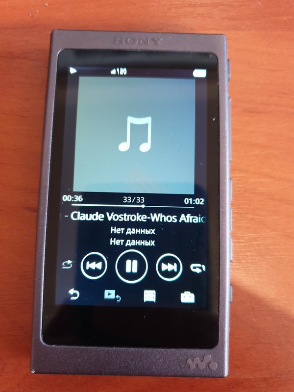 Плеер SONY Walkman NW-A45 16GB в идеале! + карта памяти 128GB - Фото 3