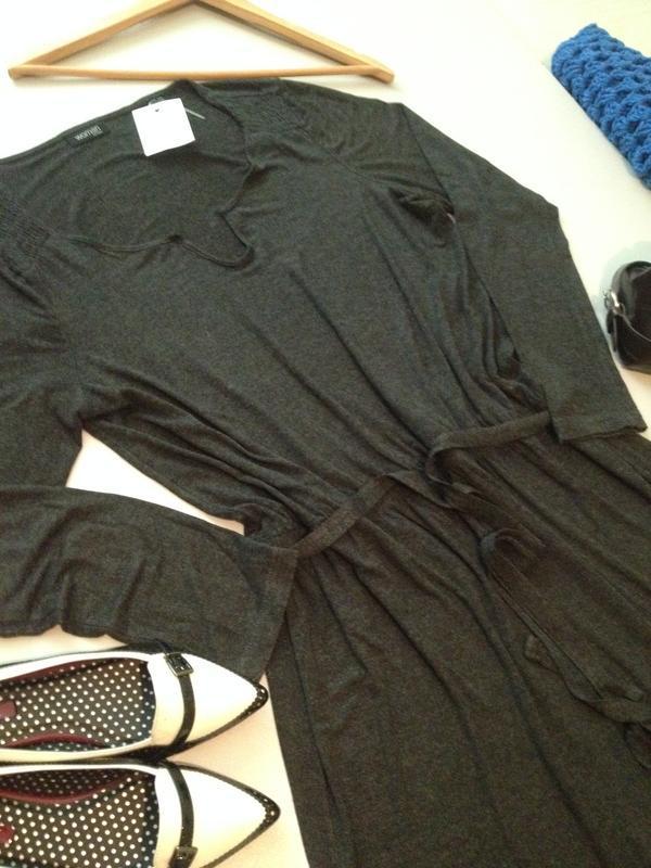 Трикотажное платье туника.1036 - Фото 3