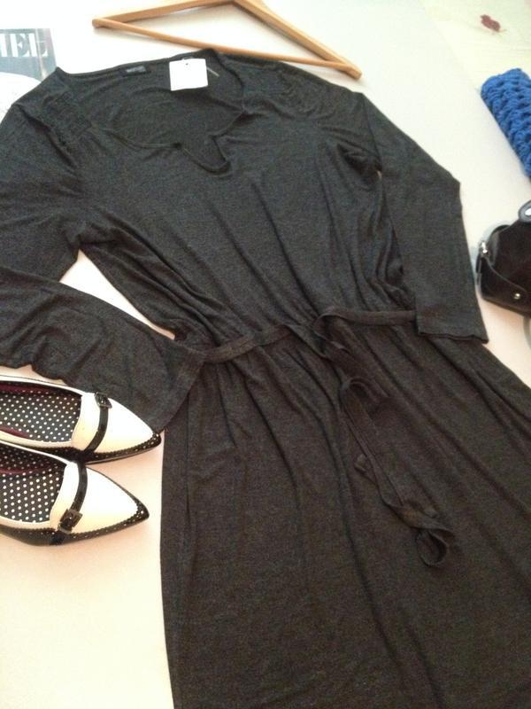 Трикотажное платье туника.1036 - Фото 5