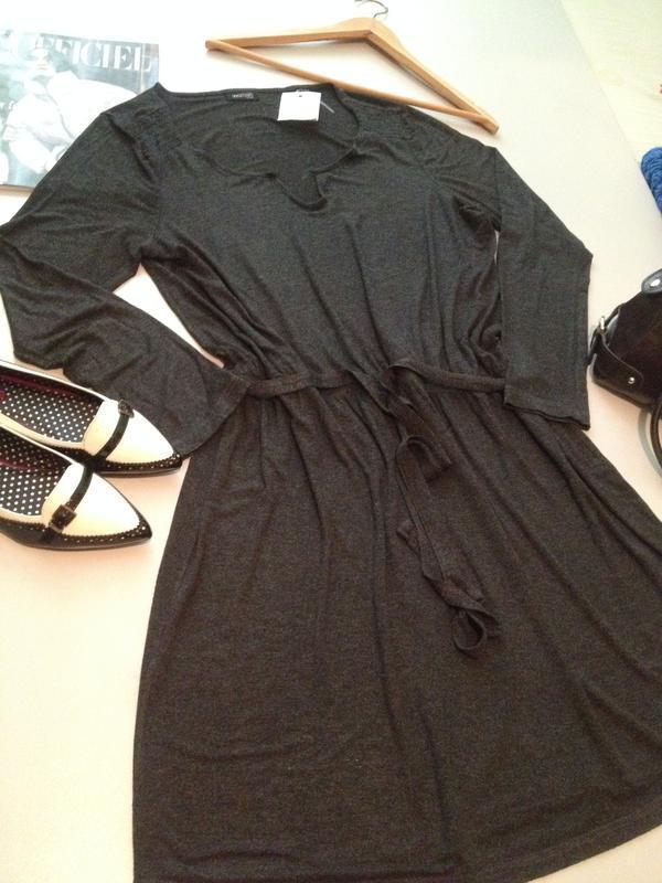 Трикотажное платье туника.1036 - Фото 6