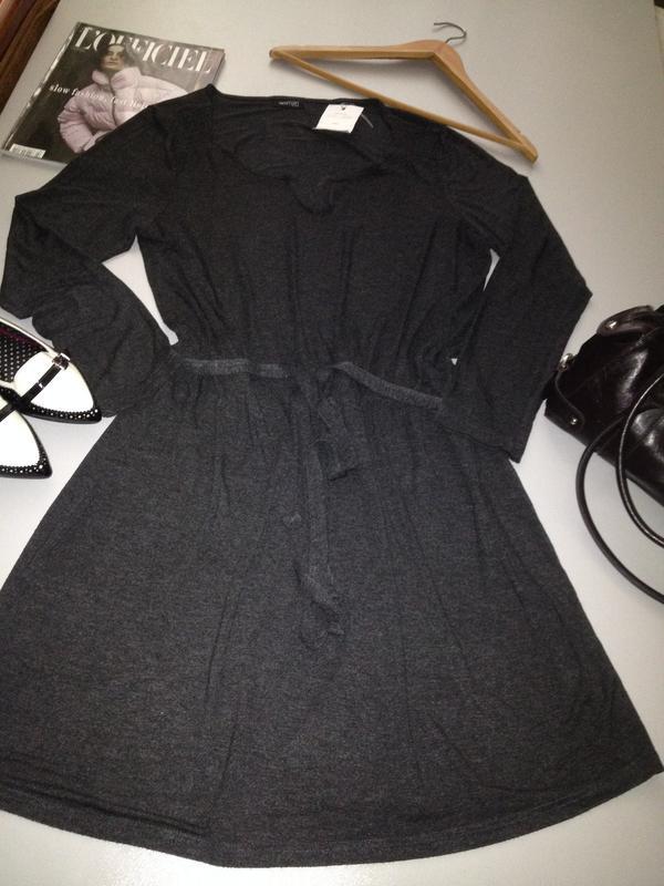 Трикотажное платье туника.1036 - Фото 7