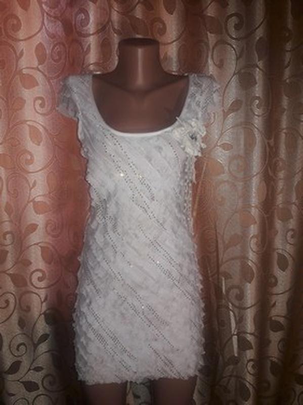 ✨👗✨красивое женское платье с рюшами, воланами🔥🔥🔥 - Фото 2