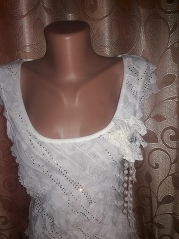 ✨👗✨красивое женское платье с рюшами, воланами🔥🔥🔥 - Фото 3