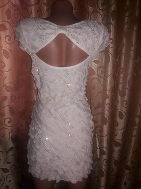 ✨👗✨красивое женское платье с рюшами, воланами🔥🔥🔥 - Фото 4
