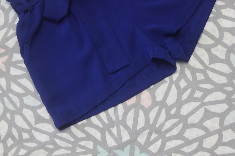 Шикарные шорты с высокой посадкой и поясом paperbag от amisu - Фото 3