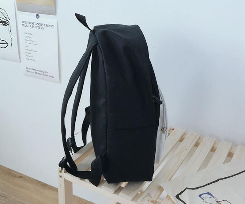 Рюкзак городской сова черный - Фото 2