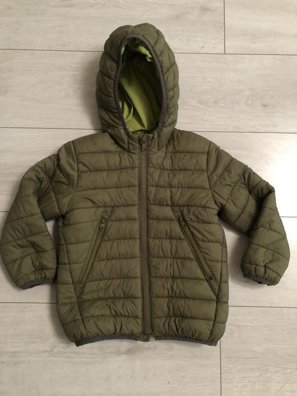Осенняя курточка zara на мальчика, 4-5 лет, 110 см