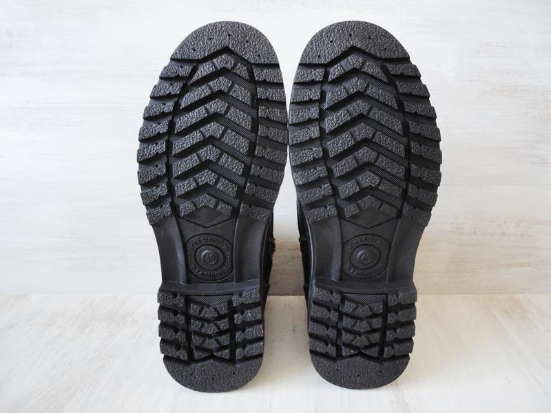 Зимние ботинки, натуральная кожа, цигейка - Фото 5