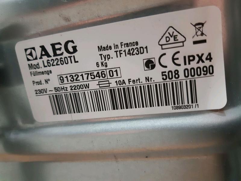 Продам стиральную машинку AEG, с Германии, 6 кг, 2015 г - Фото 6