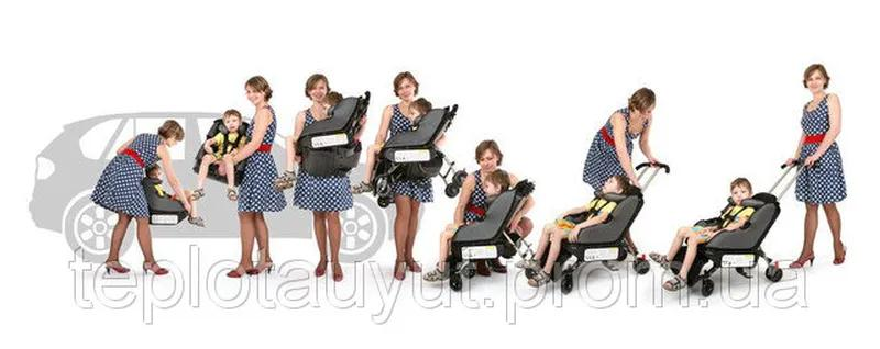 Детское автокресло - коляска Sit'n'Stroll - Фото 3