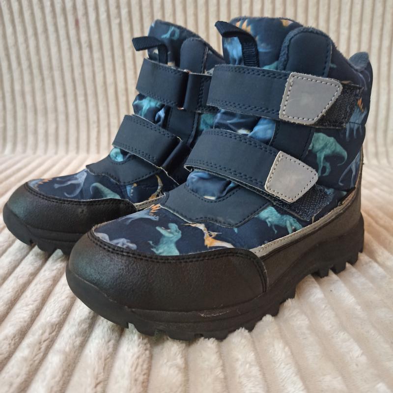 Зимние ботинки h&m,размер евро 34,стелька 22 см.
