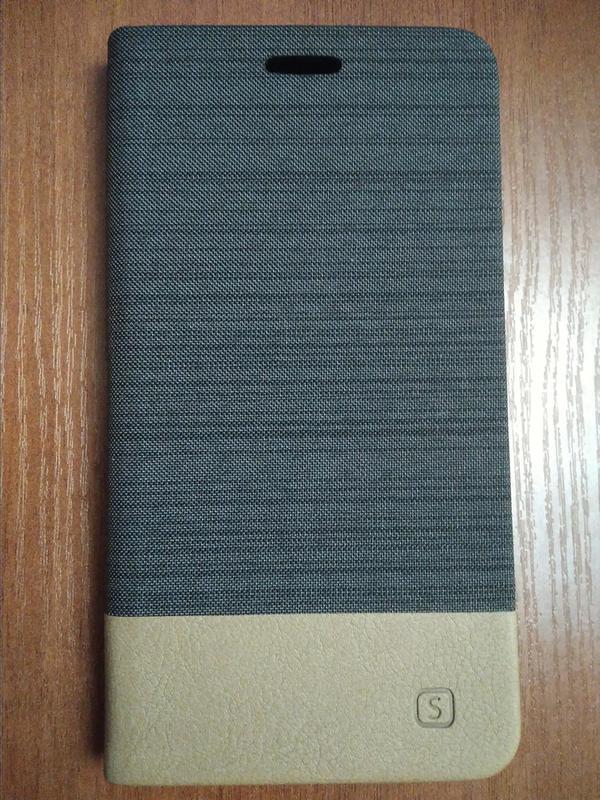 Чехол книжка для смартфона Xiaomi Redmi Note 4X brown - Фото 4