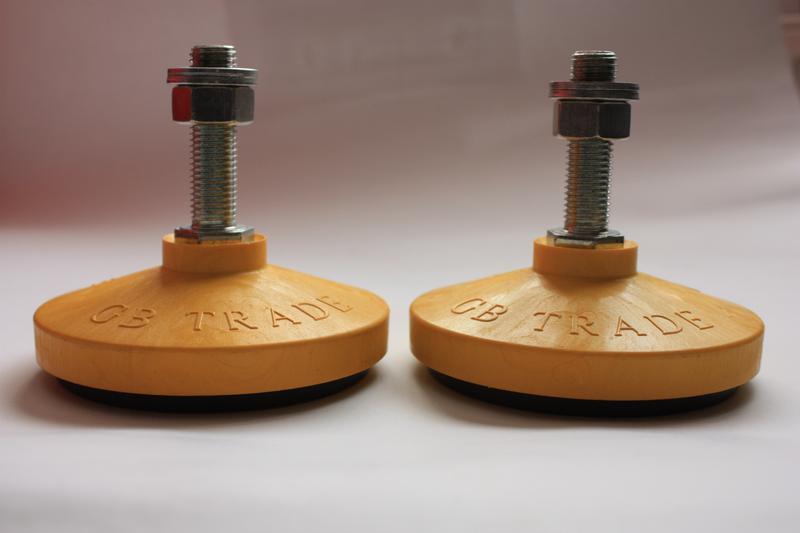 Виброопора ОВ-31МП шпилька М10, М12, М14, М16, М18, М20, М22, М24