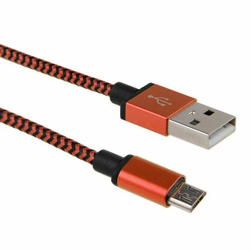 Кабель Micro USB розовый провод для зарядки смартфона data cable - Фото 2