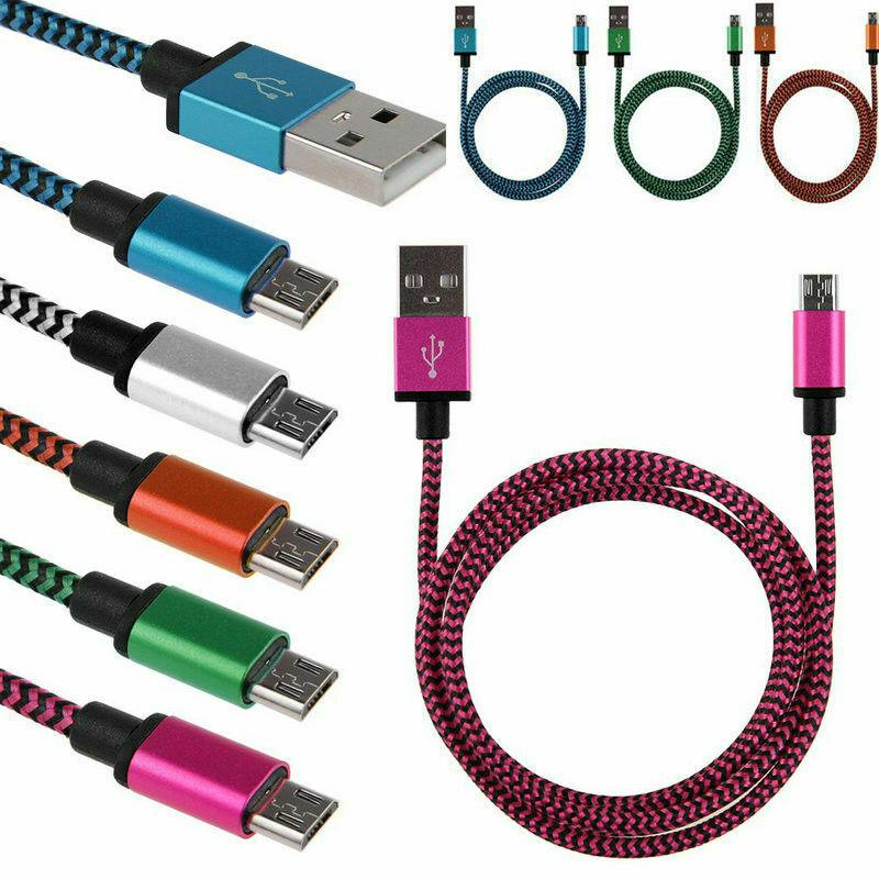 Кабель Micro USB розовый провод для зарядки смартфона data cable - Фото 6
