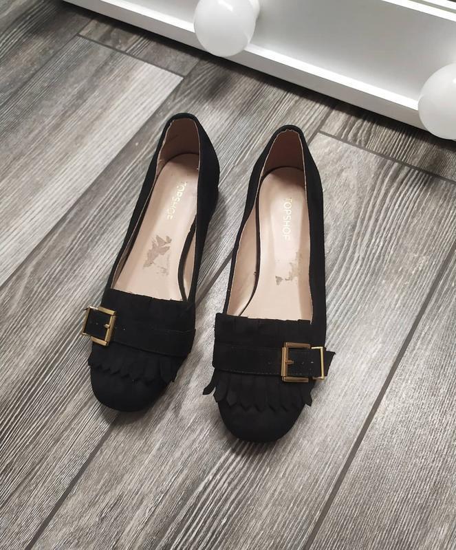 Стильные туфли лоферы с бахромой - Фото 2