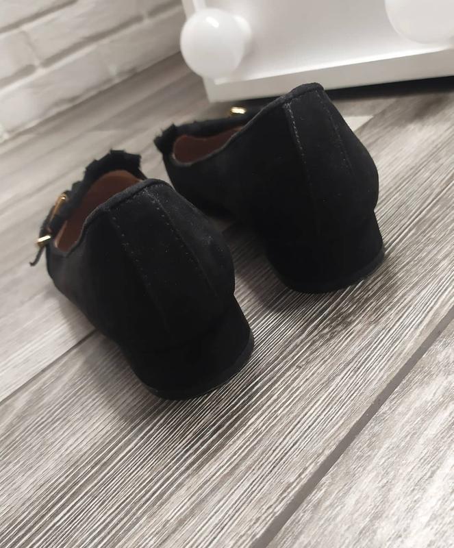 Стильные туфли лоферы с бахромой - Фото 4