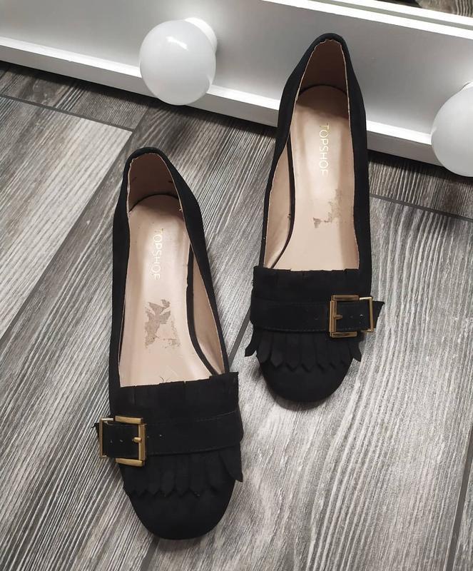 Стильные туфли лоферы с бахромой - Фото 5