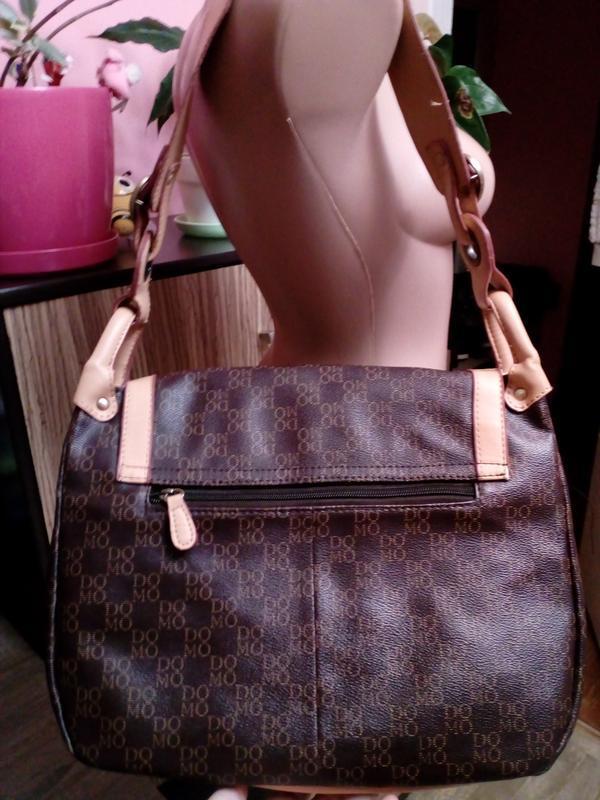 Удобная сумка через плечо европейского бренда domo - Фото 2