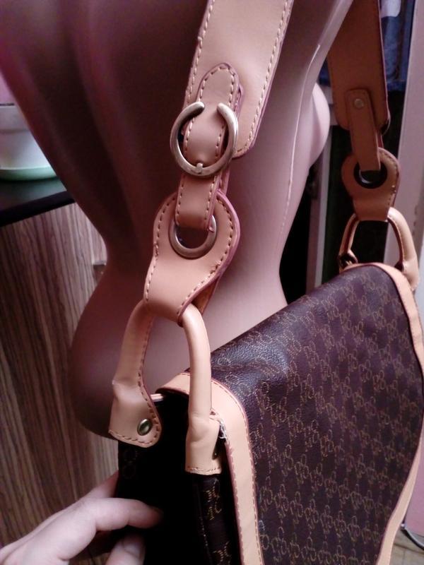 Удобная сумка через плечо европейского бренда domo - Фото 3
