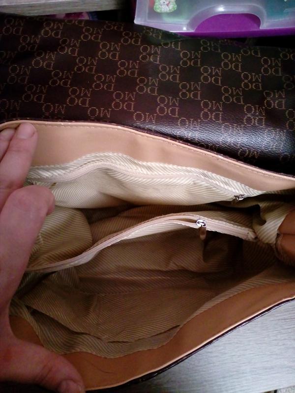 Удобная сумка через плечо европейского бренда domo - Фото 4