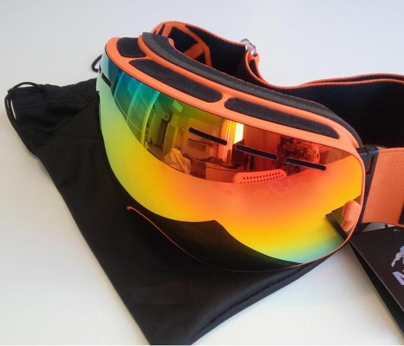СНОУБОРД ЛЫЖНАЯ МАСКА очки лижні окуляри лижна горнолыжная - Фото 3