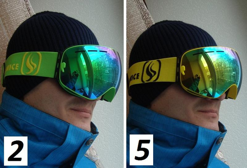 СНОУБОРД ЛЫЖНАЯ МАСКА очки лижні окуляри лижна горнолыжная - Фото 10