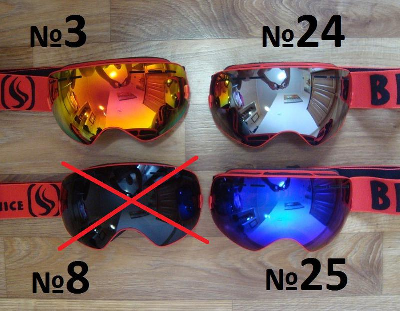 СНОУБОРД ЛЫЖНАЯ МАСКА очки лижні окуляри лижна горнолыжная - Фото 11