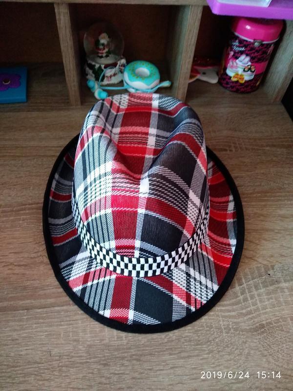Шляпа летняя 🔥 разноцветная унисекс с декоративной лентой 🎗️