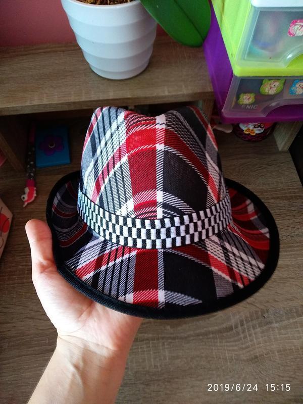 Шляпа летняя 🔥 разноцветная унисекс с декоративной лентой 🎗️ - Фото 2