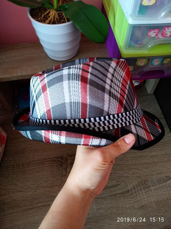 Шляпа летняя 🔥 разноцветная унисекс с декоративной лентой 🎗️ - Фото 3