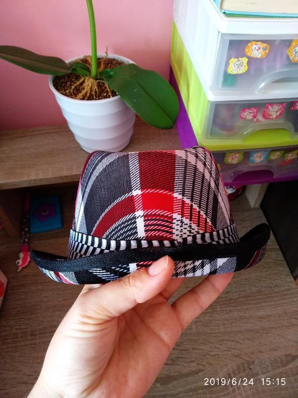 Шляпа летняя 🔥 разноцветная унисекс с декоративной лентой 🎗️ - Фото 4